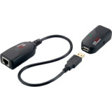 LogiLink kit Extender usb 2.0, twisted Pair, noir