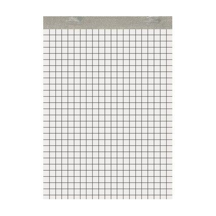 001BLOC Bloc-notes, sans couverture, A5, 148 x 210 mm