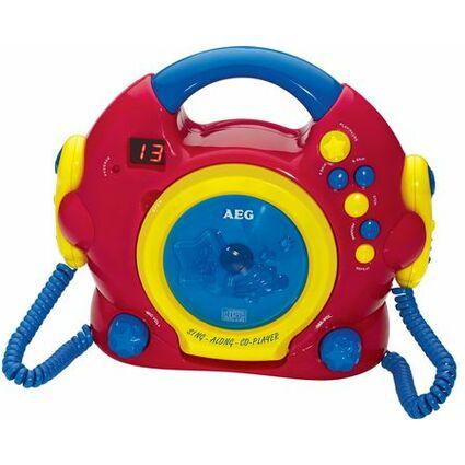 """AEG lecteur CD portable CDK 4229 """"Sing Along"""" - pour enfants"""