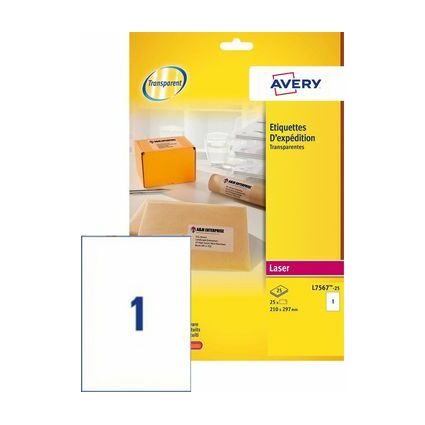99 1 x 67 7 mm label template - avery tiquettes d 39 exp dition transparentes 99 1 x 67 7