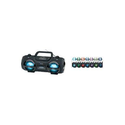AEG Radio stéréo CD Soundbox SR 4359 BT, noir,