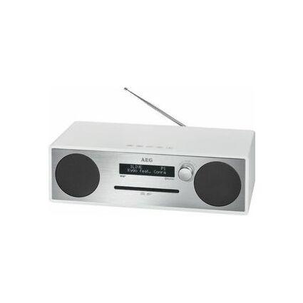 AEG Système audio stéréo MC 4469, argent/noir