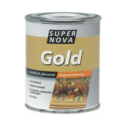 SUPER NOVA Gold-Effektlack, 125 ml