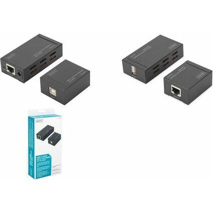 DIGITUS Set d'extendeurs USB 2.0, USB-B - USB-A, 100 m