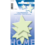 "HERMA stickers fluorescents home ""grandes étoiles"""