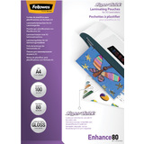 Fellowes pochette à plastifier Super Quick, A4, 160 microns