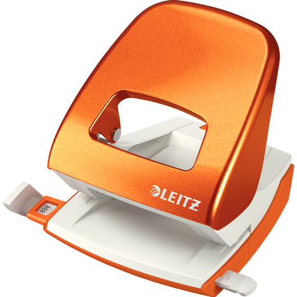 LEITZ Perforateur nexxt 5008, orange métallique, dans un