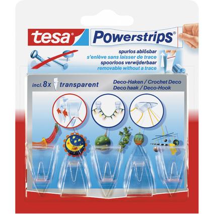tesa powerstrips CROCHET DECO adhésif, pour max. 0,2 kg