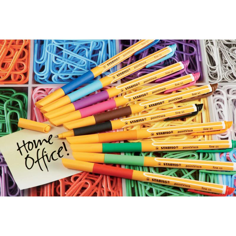 stabilo stylo encre gel pointvisco vert tilleul 1099 43 bei g nstig kaufen. Black Bedroom Furniture Sets. Home Design Ideas