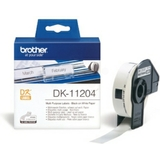 brother dk-11204 étiquettes multi-usage, 17 x 54mm, blanc