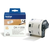 brother dk-11209 étiquettes adresses, 62 x 29 mm, blanches