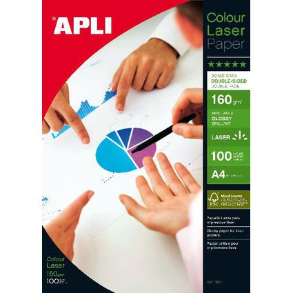 agipa Papier photo, A4, 160 g/m2, brillant recto/verso
