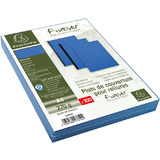 EXACOMPTA couverture de reliure EVERCOVER, A4, bleu royal