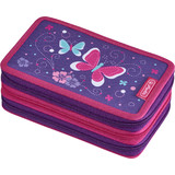 "herlitz etui scolaire triple ""Butterfly"""