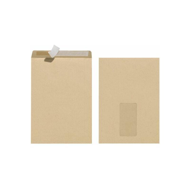 Herlitz Enveloppe Dexpédition C5 Avec Fenêtre Marron 10900405