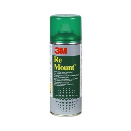 "3M Scotch Colle spray ""Re Mount"", 400 ml"